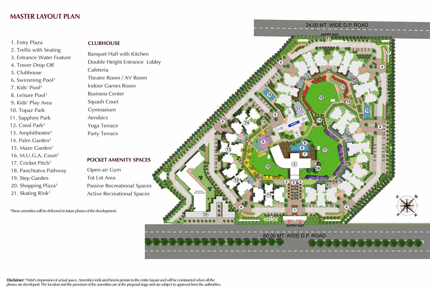 joyville gurgaon master plan